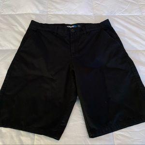 Hawk Men's Black Shorts 33